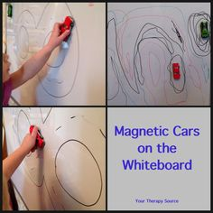 Visual Motor Activity with Cars