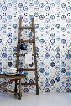 Studio ditte - Blue china wallpaper