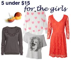 5 Gifts Under $15 for Ladies
