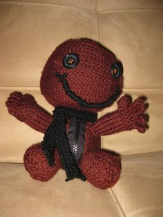 LITTLE BIG PLANET SACKBOY KNITTING PATTERN   KNITTING PATTERN