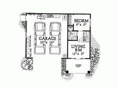 Garage apartment / floor plan