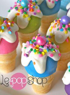And Cone Cake Ideas, Cake Shop Design, Cake Pop Cones, Sprinkle Cake ...
