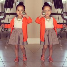 ❤ this little lady's style!