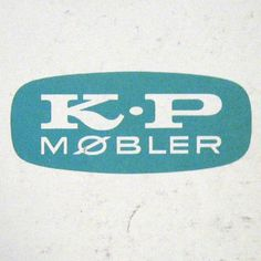 Scandinavian company K. P. Jorgensen & Son logo from the 1960's