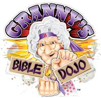 Granny's Bible Dojo....my son LOVED this game...it consistently reviews the books in order in groups...AND its hilarious...a karate chopping granny :)