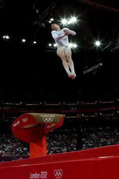 McKayla Maroney of United States competes on the vault during the Artistic Gymnastics Women's Vault final on Day 9 of the London 2012 Olympic Games at North Greenwich Arena on August 5, 2012 in London, England.