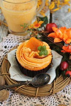 Cupcakes cu dovleac | Pasiune pentru bucatarie