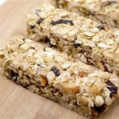 """Chewy No Bake Granola Bars   """"These granola bars are easy and delicious. They taste just like the store-bought chewy kind. My husband asks me to make these at least once a week!"""""""