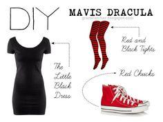DIY Mavis Dracula costume - It'd be epic for a Hotel Transylvania themed wedding x3 and I could dress like Jonathan :3