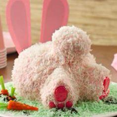 "Easter Bunny ""Butt"" Cake - Lol"