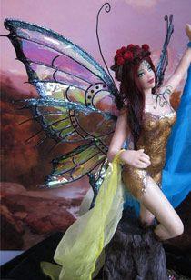 Кукла с крыльями своими руками