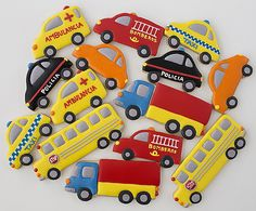 Galletas decoradas coches Postreadicción