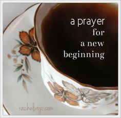 new beginning prayer