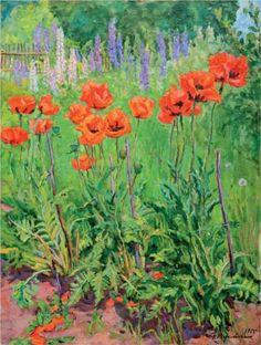 Poppies - Pyotr Konchalovsky