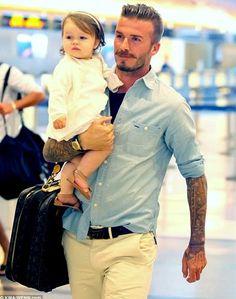 this man, being a dad, famili, daughter, children, david beckham, men, davidbeckham, kid