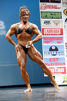 Annie Rivieccio - 2008 IFBB New York Womens Pro