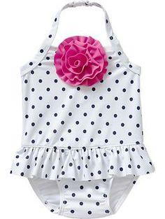 Rosette Halter Swimsuits for Baby   Old Navy