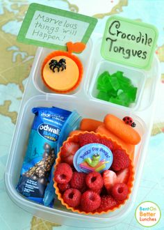 Literacy lunch!  Roald Dahl inspired school lunch boxes
