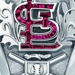 Yes, there's a squirrel on the Cardinals 2011 World Series rings