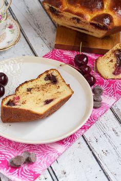 Chocolate Cherry Brioche. #breads #cherries #breakfast