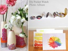 Mother's Day DIY's for kids...these are so cute