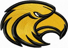 golden eagl, southern miss, embroideri design, machin embroideri, eagles, eagl machin, colleg logo, embroideri colleg, machine embroidery designs