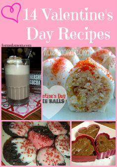 14 Valentine's Day Recipes #ValentinesDay