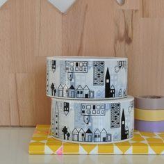 Maisons houses, adhésif maison, happy home, washi tape, tapes, homes, maison taska, masking tape, mask tape