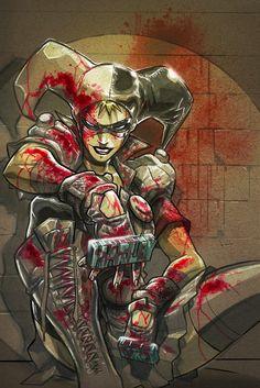 Harley Quinn by MiaCabrera.deviantart.com