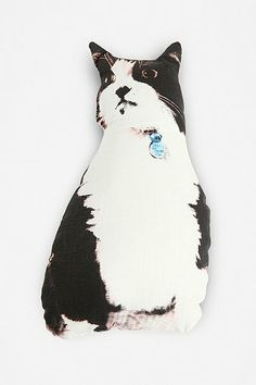 Diego the Cat Pillow: Urban Outfitters