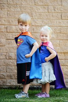 Superhero Cape by littleshepsters: Custom reversible with straight edge #Kids #Capes #littleshepsters