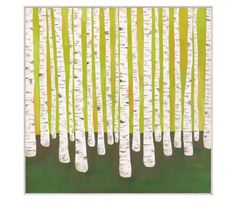 Birch Forest by Lisa Congdon.