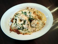 """Cauliflower Cheese """"Steaks""""! 5.00 stars, 5 reviews. """"A new and dellicious way to serve cauliflower!"""" @allthecooks #recipe #cauliflower #vegetarian #easy #healthy #side"""