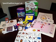 Speech Room News: Give a Mouse A Cookie, revamped activities