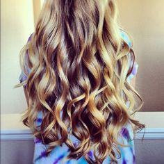 Long Beautiful Curls