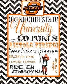 Oklahoma State University.