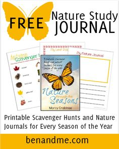 Why study nature? Charlotte Mason had some ideas about that. Includes a free nature study ebook with journal pages and scavenger hunts for all 4 seasons.