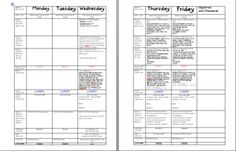 LESSON PLAN TEMPLATE 2012-2013 SCHOOL YEAR - TeachersPayTeachers.com