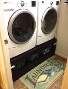 Revised : Sausha's Washer/Dryer Pedestals   Do It Yourself Home Projects from Ana White