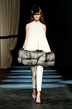 birger fall, beauti women, women fashion, 2013 readytowear, 2013 rtw, malen birger, fur, fall 2013, silver fox