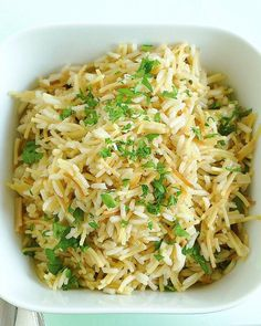 Rice Pilaf with Vermicelli Recipe