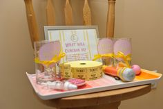Cute idea for baby's #firstbirthday: have guests vote for what occupation they think the baby will have! #firstbirthday