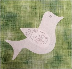 Do You See Christmas Block Of The Week 22 Dove