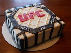 Grooms cake?  Treat Dreams: UFC Cake