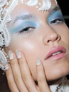 One of the coolest manis from #NYFW!