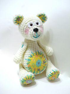 Crochet Teddy Bear Pattern by AllSoCute Seren