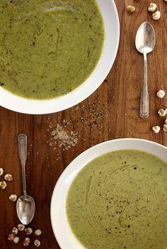 Creamy Zucchini and Tarragon Soup