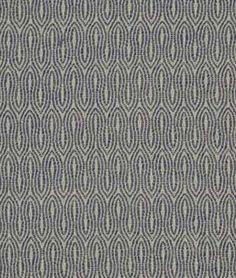 Robert Allen Wavy Goodbye Bluebell Fabric