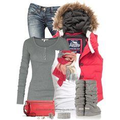 Vest With Fur