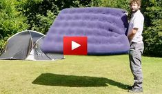 Awesome! How to Inflate an Airbed Without a Pump!